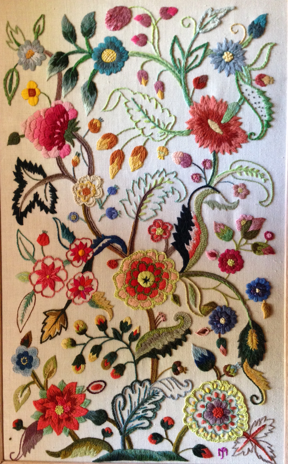 Jacobean Embroidery 03-03-2016